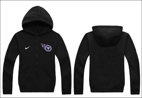 Nike Tennessee Titans Authentic Logo Hoodie Black
